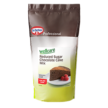 Wellcare Reduced Sugar Chocolate Cake Mix