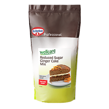 Wellcare Reduced Sugar Ginger Cake Mix